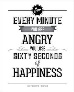 Happiness Quote Typograhy by Trina Lambert