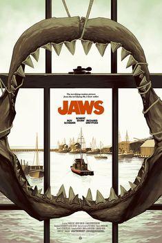 Jaws (Version 1) by Phantom City Creative