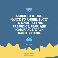 Anger and Understanding