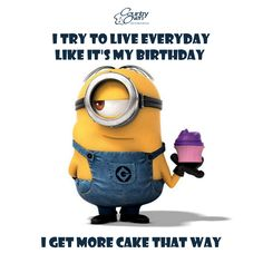 I try to live everyday like it's my Birthday... I get more CAKE that way... www.countryoven.com