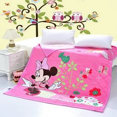 Minnie Mouse Pink Disney Quilts