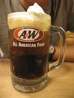 A & W Root Beer Floats.