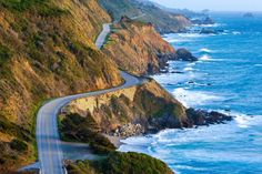 The Pacific Coast Highway, USA