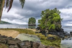 "cedorsey: "" Around The World In 80 Days: U.S. Territory, American Samoa Ocean Peaks Photo Credit: (Edoriel3) Flower Pots - Pago Pago Photo Credit: (Ray Gruchy) Worlds Photo Credit: (Andrea Pozzi) The photographers deserve credit so DO NOT remove..."