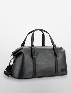 94b585470586 Calvin Klein Owen Textured Weekender Bag on shopstyle.com Leather Backpack
