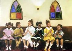 children in the house of the Lord
