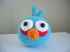 Angry Birds - Blue Bird - Adorable Amigurumi