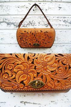 Tooled leather