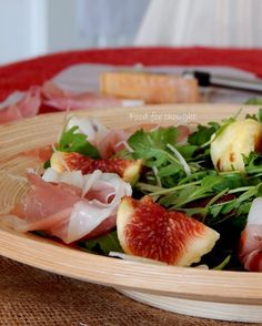 Prosciutto, Salads, Dinner, Vegetables, Food, Summer, Dining, Summer Time, Food Dinners