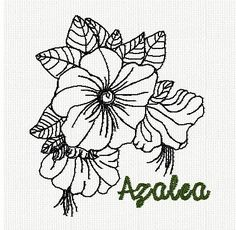 botanical-azalea-flower-redwork-embroidery