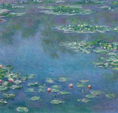 """Claude Monet (1840-1926), """"Water Lilies"""" - The Art Institute of Chicago ~ Chicago, Illinois, USA"""
