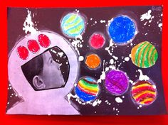 Blast off into Preschool!  If ______ went to space s/he would visit _________ and bring __________.