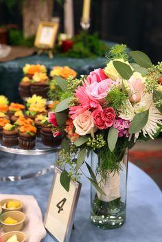 A Garden Wedding Bouquet Made At Whole Foods Market Asheville Spray Roses
