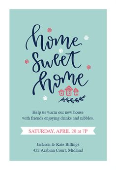 Printable floral housewarming invitation template invite for Housewarming party invites free template