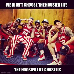 Go Hoosiers!  #IUCollegeBasketball