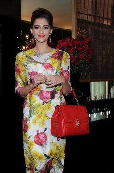 Sonam Kapoor at Dolce & Gabbana AW/12 runway show