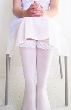 lace embellished socks! I need to just get lace period. It's one of my favorite materials and these socks would be great for fall! <3