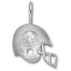961352c9e Sterling Silver 7 8in Washington Redskins Helmet Pendant
