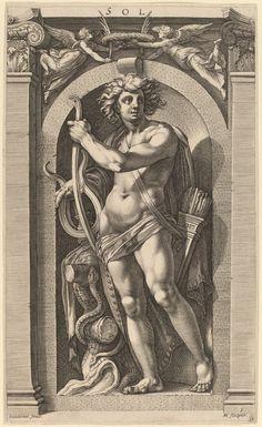 Polidoro da Caravaggio - Apollo