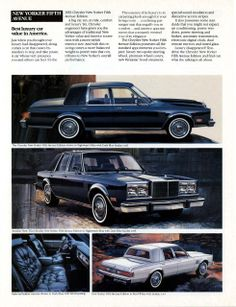 1983 Chrysler New Yorker Fifth Avenue Editions