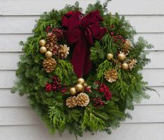 fresh christmas wreaths holiday wreaths holiday decor christmas greenery christmas wreaths to make - Fresh Christmas Greenery