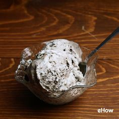 No ice cream maker? No problem. Try this no-churn ice cream that incorporates cookies right into the mix.