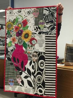 I was lucky enough to take a class from the famous artist/quilter, Freddy Moran, Saturday in Sacramento. I invited my friend Natalie to g...