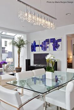 Dining Room Decor Ideas   Clean, Contemporary, Modern Style With An Elegant  And Glamorous