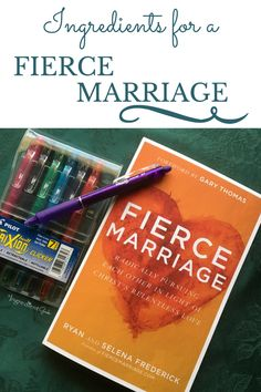 Ingredients for a Fierce Marriage Book Review | Fierce Marriage: Radically Pursuing Each Other In Light of Christ's Relentless Love. TheIngredientGeek.com