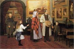 Visiting Hall by James Hayllar (English 1829-1920)