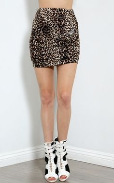 Knotted Up Mini Skirt