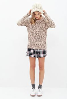 Marled Crew Neck Sweater | Forever 21 - 2052542771