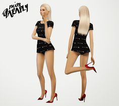 My Sims 4 Blog: Madlen Mazel Shoe Recolors by MissParaply