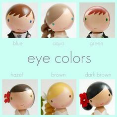 Eye colors ideas