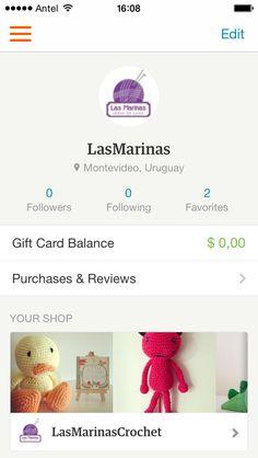 Las Marinas Crochet: Tenemos nuestra tienda en Etsy!!!