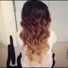 Ombre Hair!!! So pretty this is a style you can wear all year round.