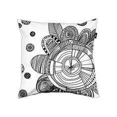 Flower Pillow - Details - Envelop