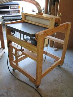 shop built drum sander plans | Drum Sander - by luv2learn @ LumberJocks.com ~ woodworking community