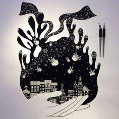 Poetic Papercut Art – Fubiz Media