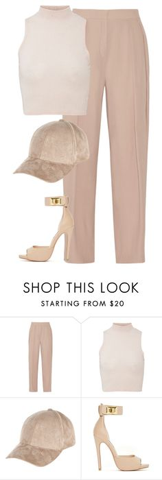 """""""Untitled #6368"""" by heynathalie ❤ liked on Polyvore featuring mode, By Malene Birger, River Island en Steve Madden"""