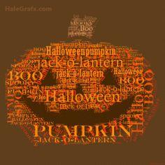 Free Printable Pumpkin Word Art