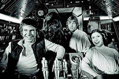 Harrison Ford, Carrie Fisher, Mark Hamill - The Making of Star Wars (Han Solo, Princess Leia, Luke Skywalker, Chewbacca, Millennium Falcon)
