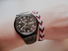 OMG!!!!!  Do you remember these bracelets?!  I made these all the time in junior high school!
