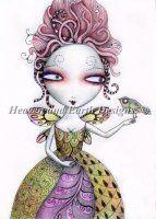 Fairy With Bird by Gyseman, Suzanne