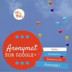 #Google+ a enfin changé ses conditions d'utilisation. S'il était obligatoire d'utiliser son nom réel avec son profil G+, sous peine de voir son nom supprimé, maintenant le pseudonyme est enfin autorisé. pour en savoir plus http://tomatejoyeuse.blogspot.com/2014/07/pseudonyme-autorise-enfin-sur-google.html