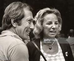Andy Williams & Ethel Kennedy during RFK Pro-Celebrity Tennis Tournament Promotions at Seagram's Plaza in New York City, NY, United States. Get premium, high resolution news photos at Getty Images Los Kennedy, Ethel Kennedy, Try To Remember Lyrics, Familia Kennedy, Joan Bennett, Andy Williams, Tennis News, Tennis Tournaments, Bobby