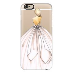 iPhone 6 Plus/6/5/5s/5c Case - Gwen - by Brooklit ($40) ❤ liked on Polyvore featuring accessories, tech accessories, iphone case, slim iphone case, iphone cover case and apple iphone cases