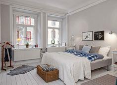 Скандинавские спальни