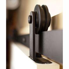 6-16 FT Rustic Classic Closet Sliding Barn Double Door Hardware Roller Track | Home & Garden, Home Improvement, Building & Hardware | eBay!