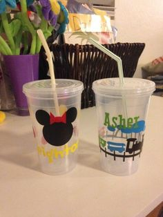 Personalized Cups - Fun Family Crafts